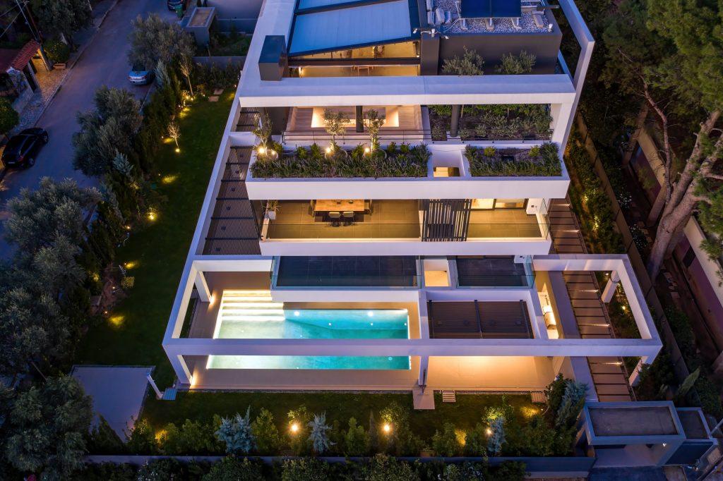 Συγκρότημα έξι αυτόνομων κατοικιών νέα Κηφισιά